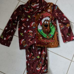 Scooby Doo holiday PJs